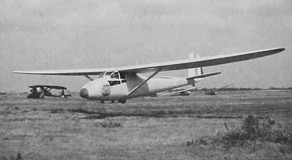 Caudron c800 landing