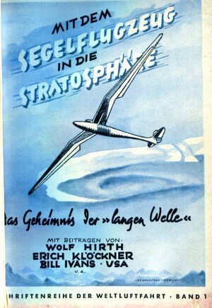 Mit dem Segelflugzeug in die Stratosphere s