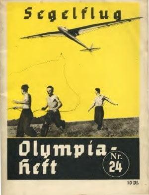 Olympia Heft Segelflug eng