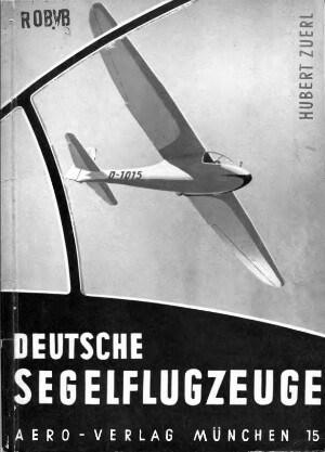Zuerl Deutsche Segelflugzeuge s