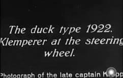 1922 Klempere Duck