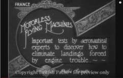 1922 Motorless flying machines