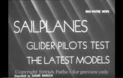 1930 39 Sailplanes