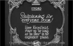 1930 Sailplaning for everyone Firle Beacon