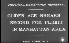 1931 Wolf Hirth over New York 12th March