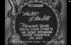 1931 Yachts of the air