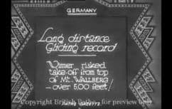 1932 Long distance gliding