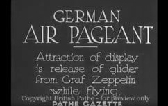 1934 Graf Zeppelin at German air pagent