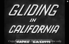1939 gliding demonstration in California