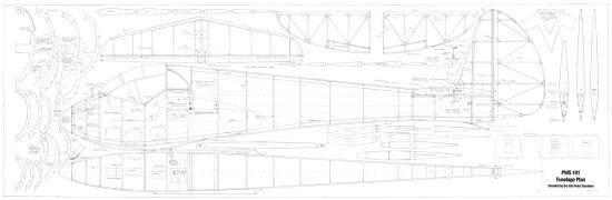 PWS101 fuselage