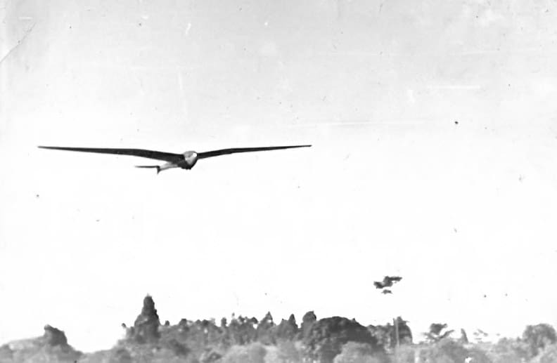 First flight of the Flamingo 1945