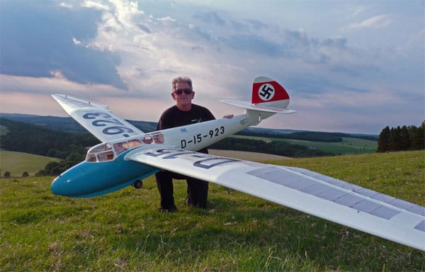 chris williams minimoa mo2 glider for rc