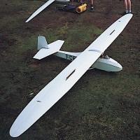 grunau baby scale model glider sailplane