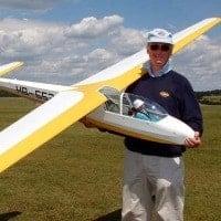ka-7 scale model rc glider