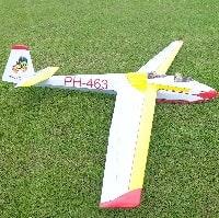 laser cut sailplanes cliff charlesworth ask-13 short kit plan